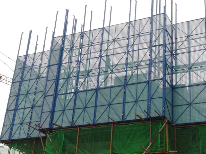 石家庄建筑爬架网在安装使用时要注意检修